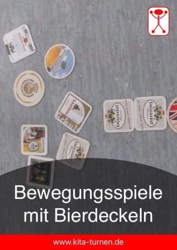 Bewegungsspiele mit Bierdeckeln