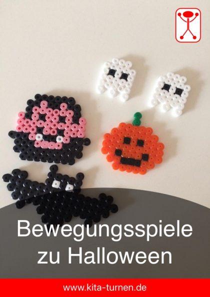 Bewegungsspiele zu Halloween